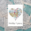 Thumbnail: Personalised Greeting Card ~ Any Occasion ~ Named Card ~ Exact & Current Map Loc