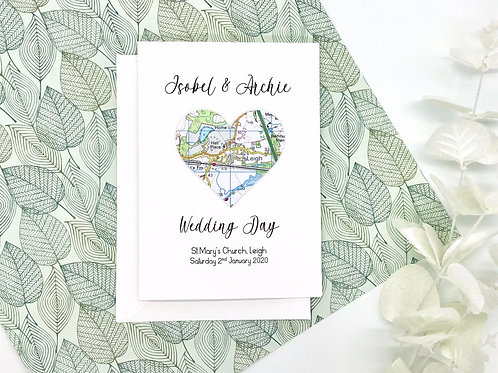 Personalised ~ Wedding Day Card or Christening Day ~ Engagement ~ Love Cards ~Ex