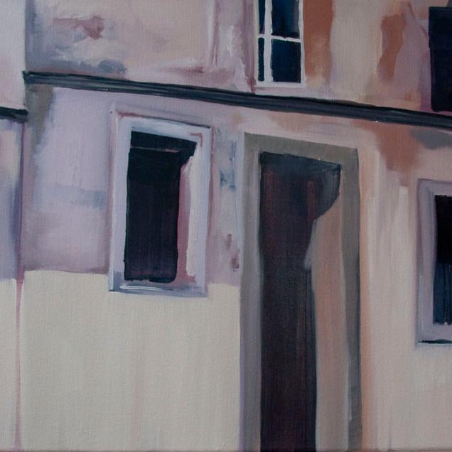 Neuf, oil on canvas,
