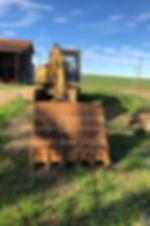 Travaux de terrassement - Pelle mécanique