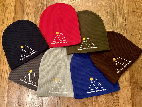 Trials, Trails and Triumphs Beanie