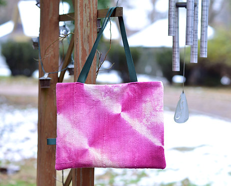 Pink Bogolan Mud Cloth Tote (One of One)