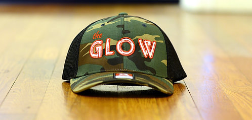 the GLOW Fitted Trucker