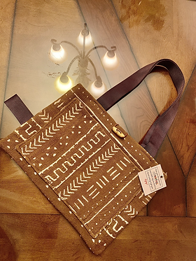 Mud Cloth Tote (One of One)