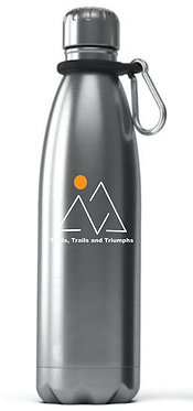 17 Oz. Reusable Stainless Steel Water Bottle