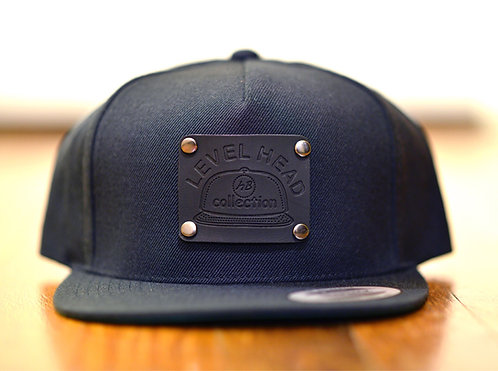 5 Panel Wool Blend Snap Back (Level Head Collection)
