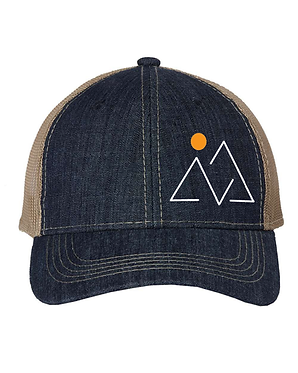 Trials, Trails and Triumphs Logo Cap