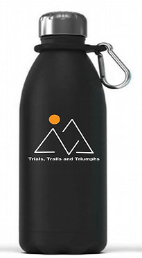 12 Oz. Reusable Stainless Steel Water Bottle