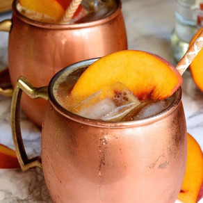 #tbtcocktail - Ginger Peach Mule 🍑