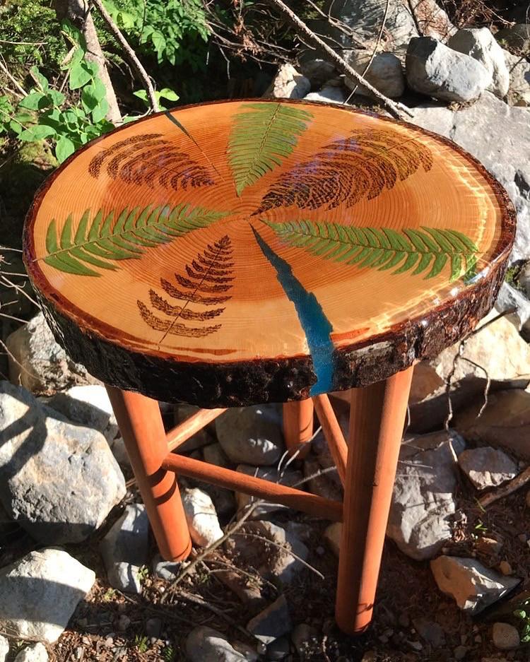 Fern Side Table