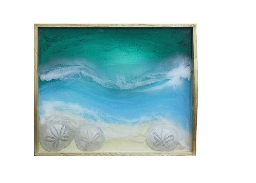 Sand Dollar Tray