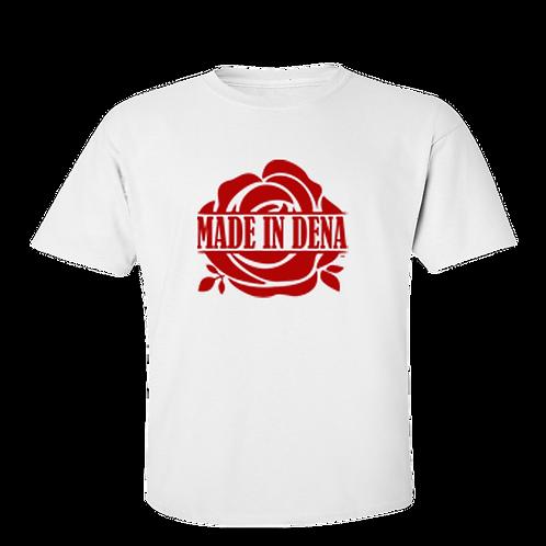 MADE IN DENA (T Shirt & Red Logo)