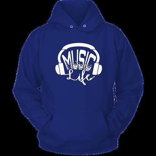 MUSIC LIFE HOODIE (HEAD PHONES)