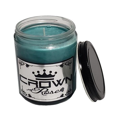 CROWN ROSE CANDLE