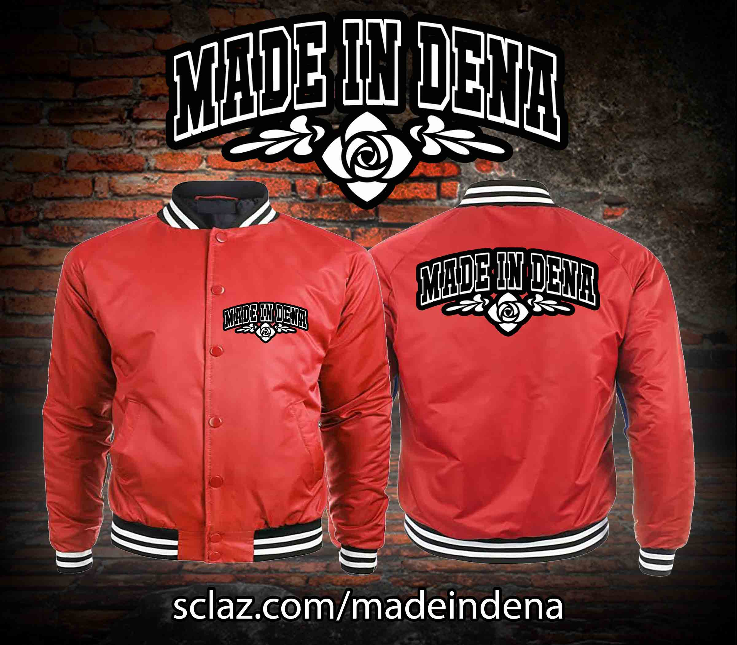 MID RED JACKET ADD