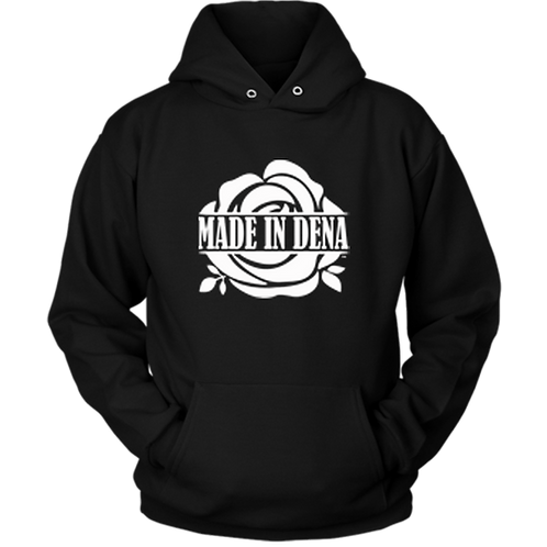MADE IN DENA (Hoodie & White Logo)