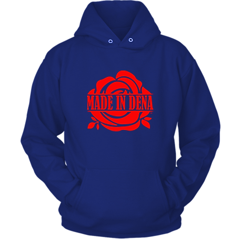 MADE IN DENA (Hoodie & Red Logo)
