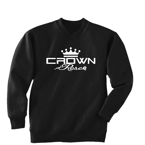 CROWN ROSE (CREWNECK  SWEATSHIRT)