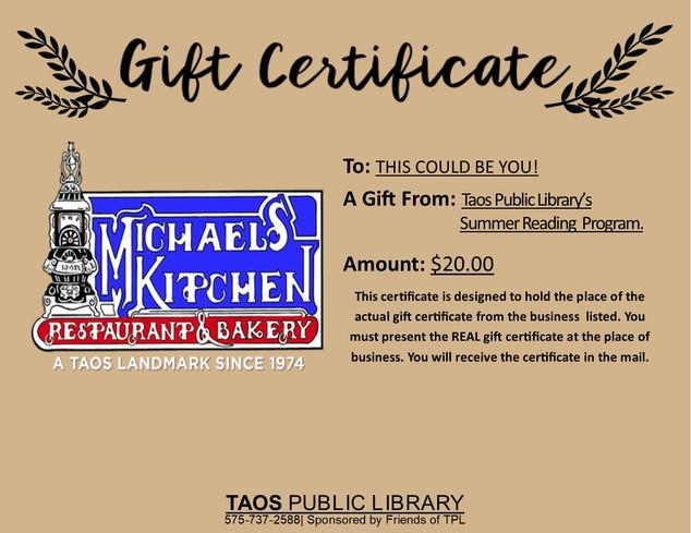 Michael's Kitchen