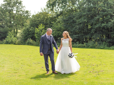 Liz & Chris - The White Hart - Derbyshire Wedding
