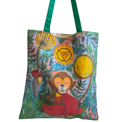 """Solar Monky"" Tote Bag"