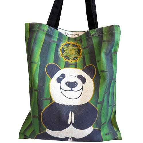 """""""Panda Guru"""" Tote Bag"""