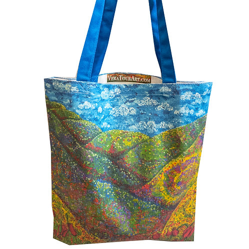 """Poppies"" Tote Bag"