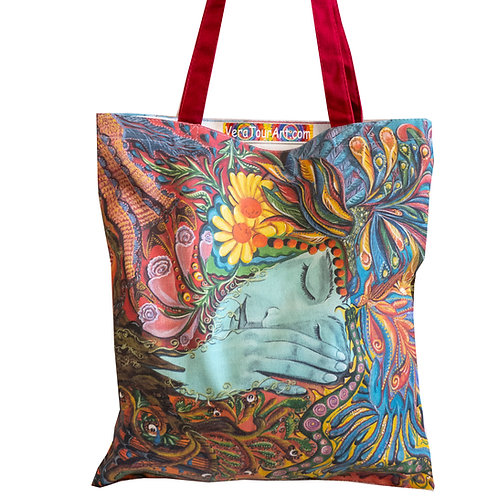 """""""I Want To Sleep In Peace"""" Tote Bag"""