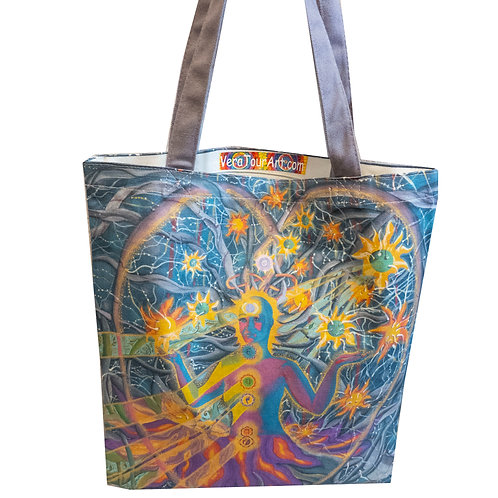 """Cosmic Bride"" Tote Bag"