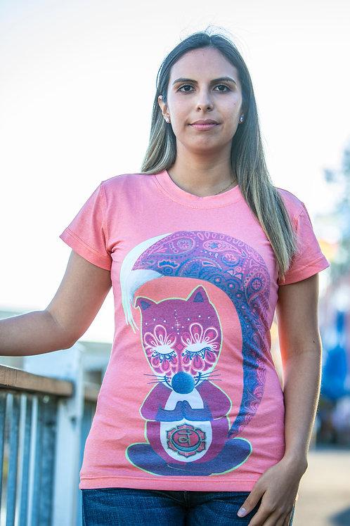 """""""Fox""""coral T-shirt"""