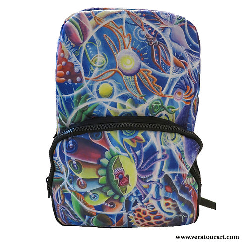 """""""Quantum Entanglement"""" felt backpack"""