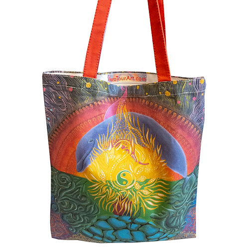 """Turtle Island"" Tote Bag"