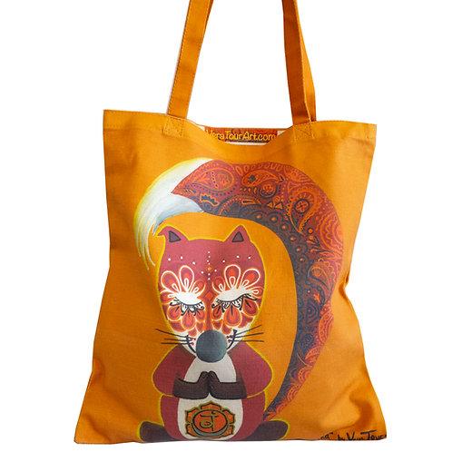 """Sacral Fox"" Tote Bag"