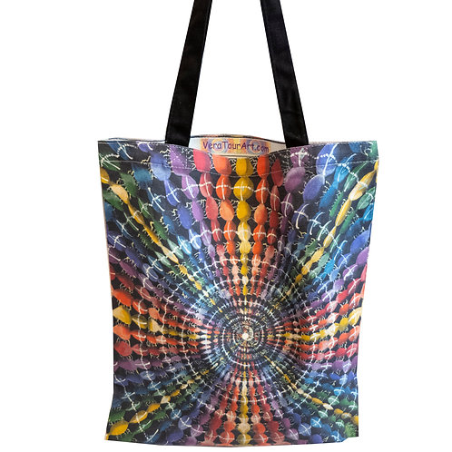 """""""Spiral Of Eternity"""" Tote Bag"""