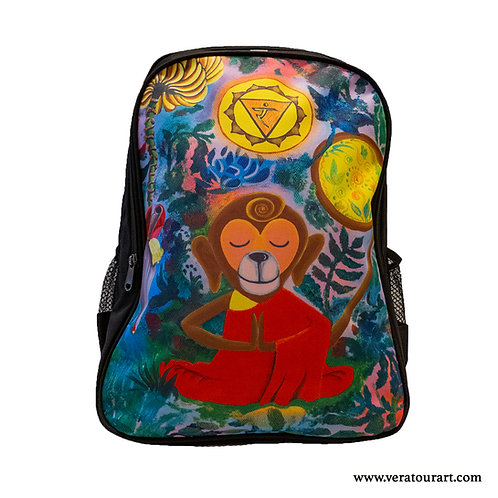 """Solar Monky"" backpack"