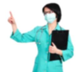 доктор-с-доской-сзажимом-для-бумаги-2805