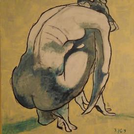 אשה עירום
