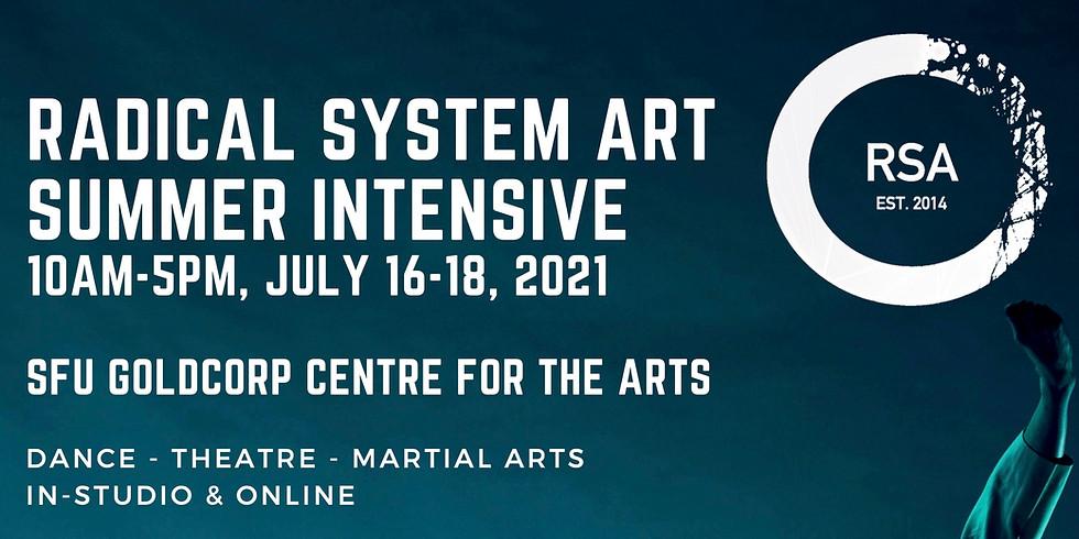 RSA Summer Intensive IN-STUDIO & ONLINE - July 16-18, 2021