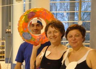Entrainement piscine des ladies avec le 2ème régiment des Dragons de Fontevraud :  1er Avril !
