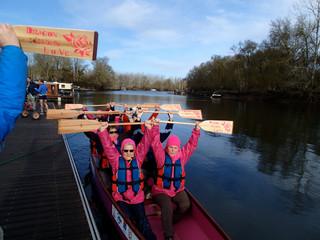 Avis de courses en Dragon Boat sur le Thouet !