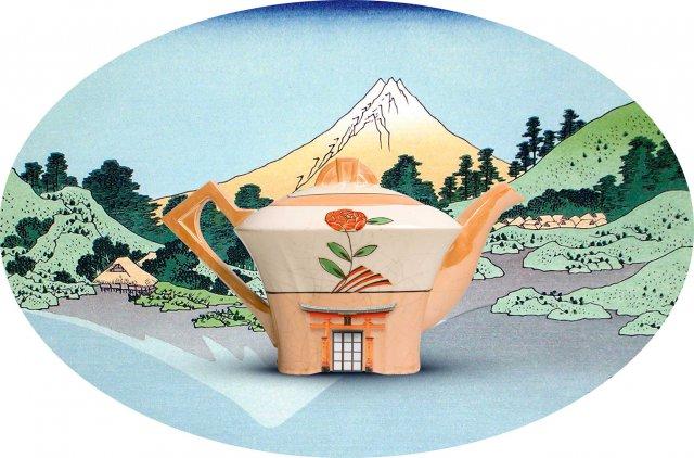 Serie paisajes de porcelana 30x50
