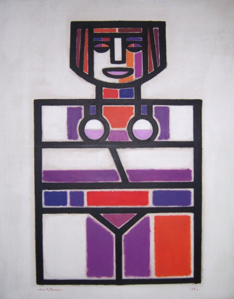 Sin titulo 100x80 cm 1979