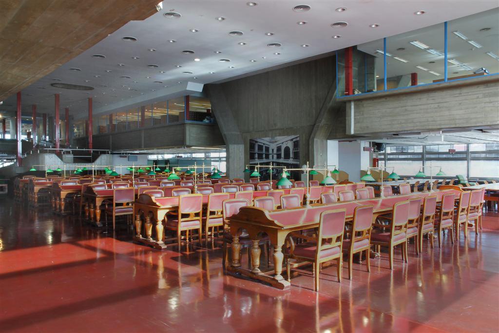Sala biblioteca Nacional Argentina