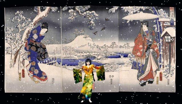 Genji Monogatari 50x70