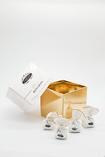 Chocolats blancs à la truffe