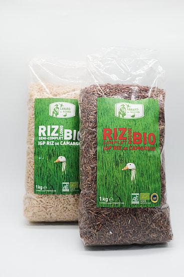 Riz blanc semi-complet BIO 1kg