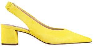 Högl, Slingpumps gelb, Artikel9-104602/8400, Seitenansicht