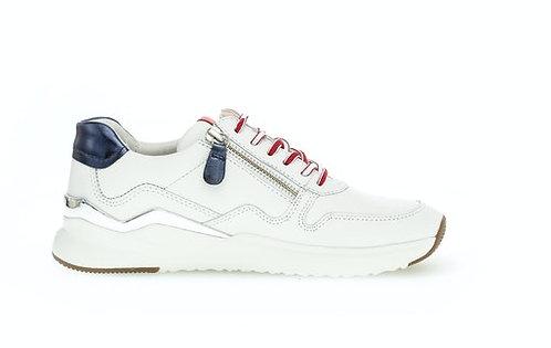 weisser Gabor Sneaker 63.480.30, Seitenansicht