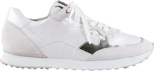 Högl, Sneaker weiss silber, Artikel 9-102311/0200,  Seitenansicht