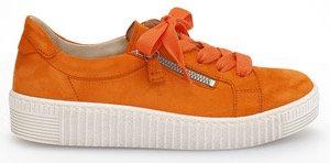 Gabor, orange Sneaker, Artikel 43.334.13